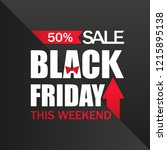 sale. black friday. this... | Shutterstock .eps vector #1215895138