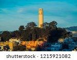 coit tower in san francisco | Shutterstock . vector #1215921082
