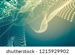 abstract polygonal space low... | Shutterstock . vector #1215929902