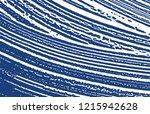 grunge texture. distress indigo ... | Shutterstock .eps vector #1215942628