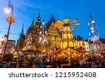 wroclaw  poland   dec 8  2017 ...   Shutterstock . vector #1215952408