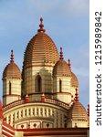 the famous dakshineswar kali... | Shutterstock . vector #1215989842
