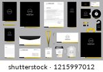 simple professional corporate... | Shutterstock .eps vector #1215997012
