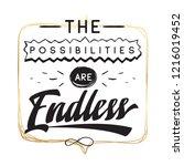 inspirational quote  motivation....   Shutterstock .eps vector #1216019452