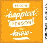 inspirational quote  motivation.... | Shutterstock .eps vector #1216019572