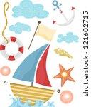 Illustration Of Nautical...