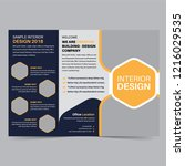 business trifold brochure...