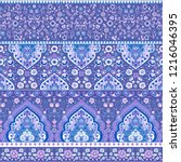 indian rug tribal ornament... | Shutterstock .eps vector #1216046395