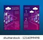 modern cloud technology and...   Shutterstock .eps vector #1216099498