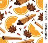 Seamless Pattern With Anise...