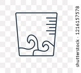 water deep measuring vector... | Shutterstock .eps vector #1216157578