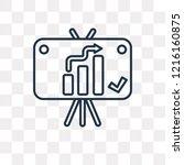 result vector outline icon... | Shutterstock .eps vector #1216160875