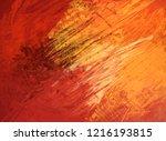 2d illustration. artistic... | Shutterstock . vector #1216193815