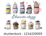 high quality hand painted... | Shutterstock . vector #1216220005