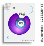 modern abstract covers template.... | Shutterstock .eps vector #1216228468