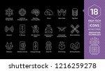 vector innovation technology... | Shutterstock .eps vector #1216259278