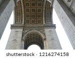 arc de triomphe   Shutterstock . vector #1216274158