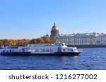 St. Petersburg Cityscape With...