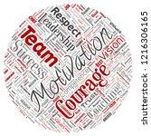 vector conceptual business... | Shutterstock .eps vector #1216306165