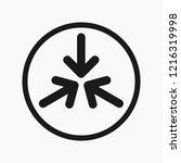 vector illustration logo of... | Shutterstock .eps vector #1216319998