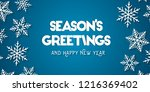 Season's Greetings And Happy...