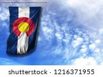 flag state of colorado....   Shutterstock . vector #1216371955