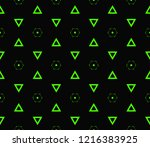 modern seamless geometric...   Shutterstock .eps vector #1216383925