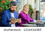 flirt and date. girl interested ... | Shutterstock . vector #1216416385
