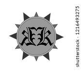 vector illustration emblem sign ... | Shutterstock .eps vector #1216493275