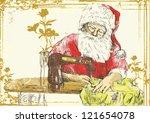 "Santa Claus As A ""vintage""..."