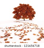 Autumn Maple Tree With A Path...