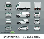 white color of the car in three ... | Shutterstock .eps vector #1216615882
