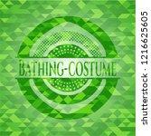 bathing costume realistic green ...   Shutterstock .eps vector #1216625605