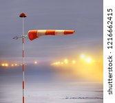 Meteorology Windsock Inflated...