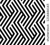 vector seamless texture. modern ... | Shutterstock .eps vector #1216666165