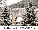 winter in schwarzwald....   Shutterstock . vector #1216681705