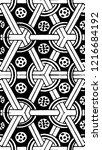 black and white minimal... | Shutterstock .eps vector #1216684192