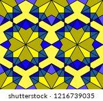geometric seamless pattern....   Shutterstock .eps vector #1216739035