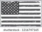 grunge black and white american ... | Shutterstock .eps vector #1216747165