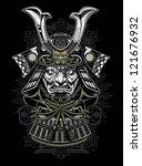 samurai | Shutterstock .eps vector #121676932