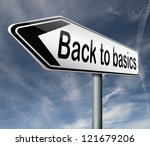back to basics keep it simple... | Shutterstock . vector #121679206