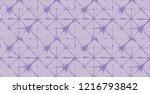 japanese kimono vector seamless ... | Shutterstock .eps vector #1216793842