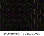 abstract background with... | Shutterstock . vector #1216796938