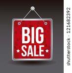 big sale announcement over... | Shutterstock .eps vector #121682392