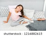 carefree and happy. happy... | Shutterstock . vector #1216882615