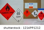 variety type of chemical... | Shutterstock . vector #1216991212
