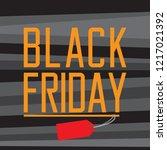 black friday promotion image.... | Shutterstock .eps vector #1217021392