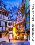 strasbourg  france. christmas... | Shutterstock . vector #1217037682