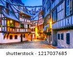 strasbourg  france. christmas... | Shutterstock . vector #1217037685