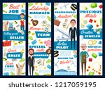 business manager  aviation... | Shutterstock .eps vector #1217059195